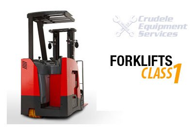 Forklift Rentals | Electric Narrow Aisle Reach Man Up Forklift - Class 1 thumb nail
