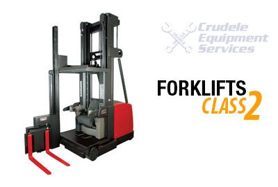 Forklift Rentals | Electric Narrow Aisle Ride-on Swing Reach Forklift-Class 2 Thumbnail