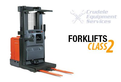 Forklift Rentals | Electric Narrow Aisle Reach Man Up - Class 2 thumb nail