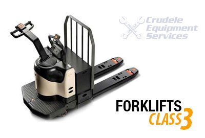 Forklift Rentals | Electric Self Propelled 'Walkie' Forklift-Class 3 thumbnail