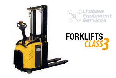 Forklift Rentals | Self Propelled Stand-on Stacker Forklift-Class 3 Thumbnail