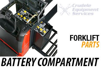 forklift parts battery compartments