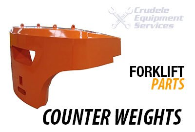 forklift parts counter weights