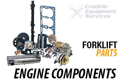 forklift parts engine components
