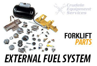 forklift parts external fuel system