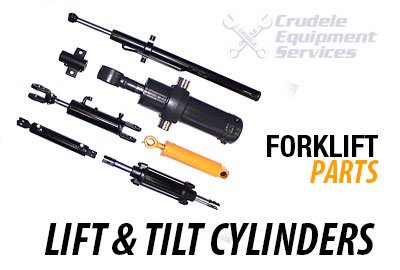 forklift parts lift cylinders & tilt cylinders