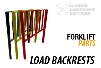 forklift parts load backrest