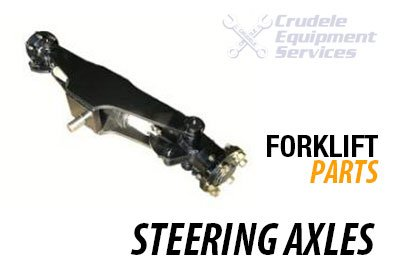 forklift parts steering axles