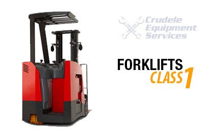 Electric Narrow Aisle Reach Man Up Forklift